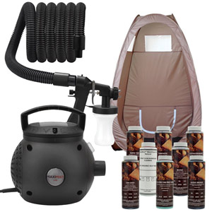 Maxi-Mist Lite Sunless Spray Tanning KIT
